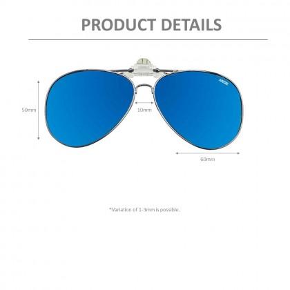 4GL IDEAL C9767 Clip On Polarized Sunglasses UV400