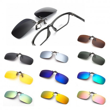 4GL CS11 Clip On Polarized Sunglasses