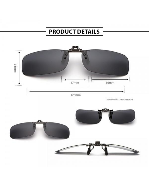 4GL CS11 Clip On Polarized Sunglasses