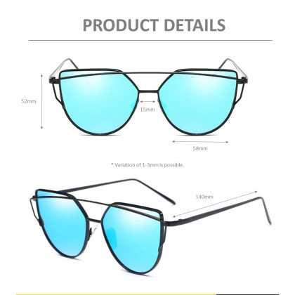 4GL WS001 Fashion Retro Women Lady Sunglasses UV400