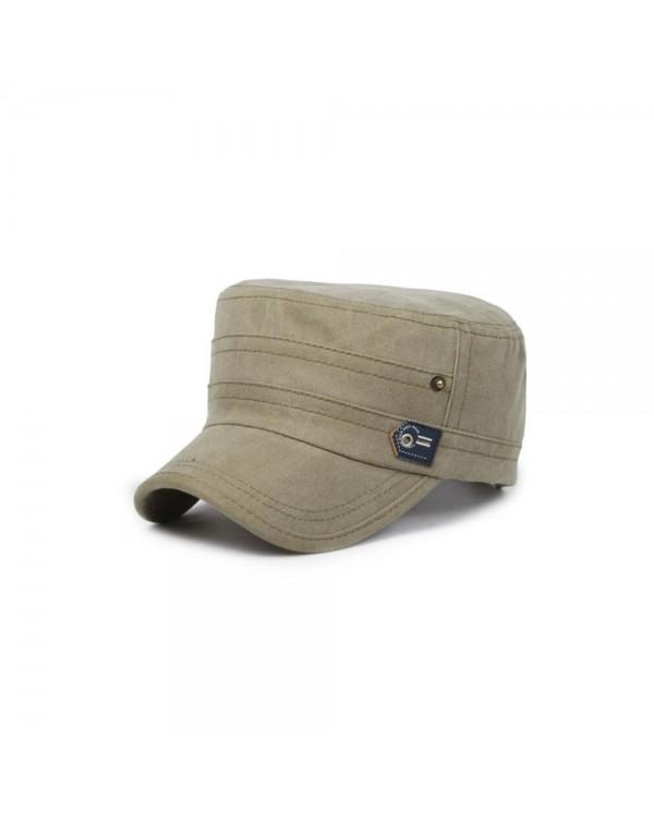 4GL Outdoor Travel Army Flat Hats Retro Washed Baseball Cap Snapback
