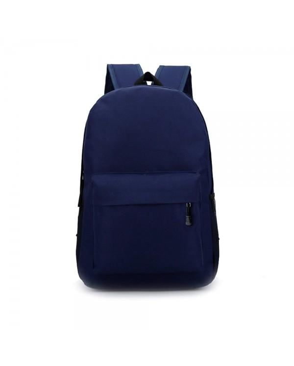 4GL Fashion Plain Colour Urban Daypack Backpack School Bag