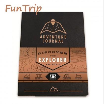 4GL Adventure Journal Personal Scratch Off Travel Adventure Map