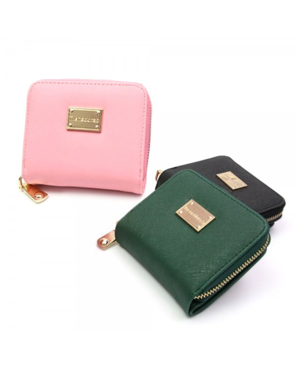 4GL Korea Fashion Trena 002 Women Short Purse Wallet With Coin Pocket
