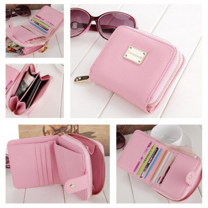 4GL Trena 002 Short Purse Korea Fashion Women Wallet With Coin Pocket