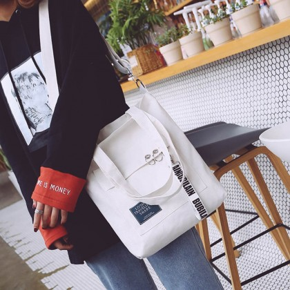 4GL Living Traveling Share 001 Sling Bag Fashion Canvas Tote Bag