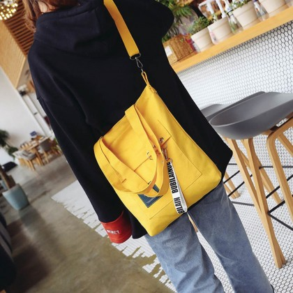 4GL Fashion Canvas Tote Bag Living Traveling Share 001 Sling Bag
