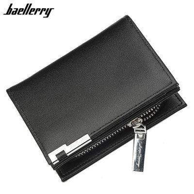 4GL Baellerry D1102 Men Wallet Zipper Purse Wristlet Dompet