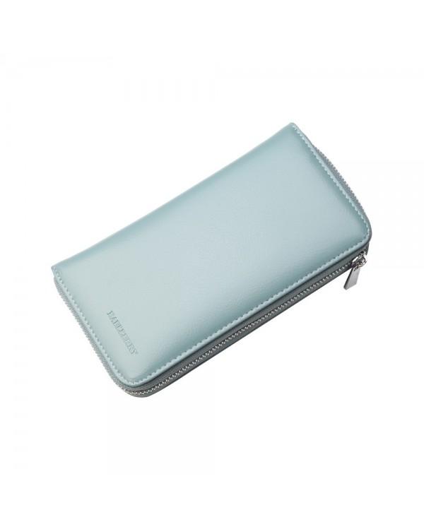 4GL Baellerry P6608 Women Long Zipper Purse Wallet Card Holder Dompet