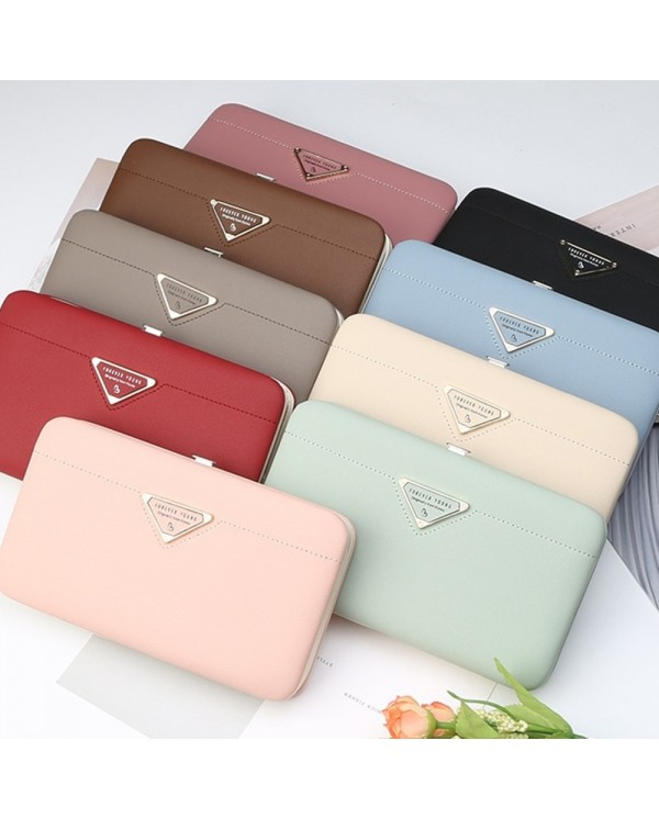 4GL Pidanlu N2328 Women Long Wallet Purse Bag Candy Colour