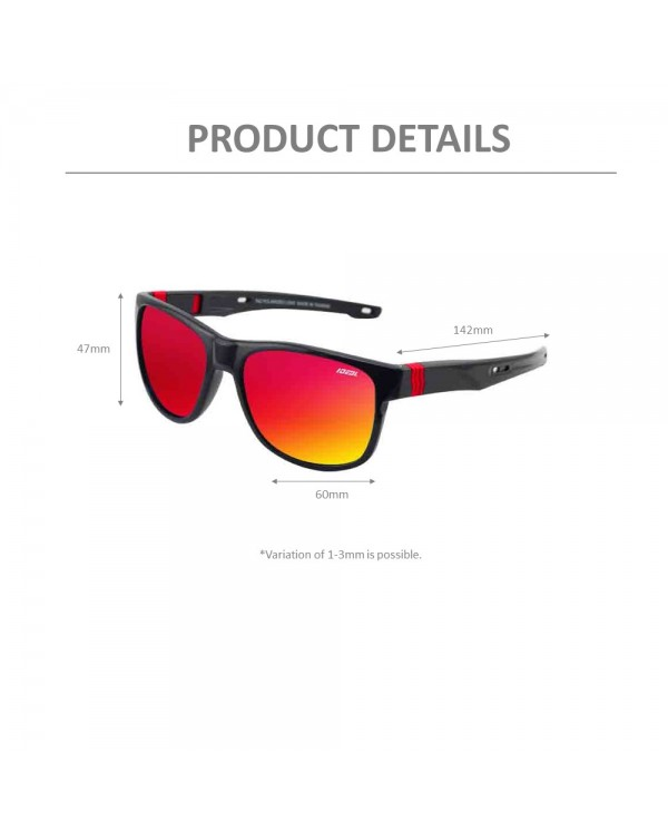 4GL IDEAL 288-9007 New Age Polarized Sunglasses UV400
