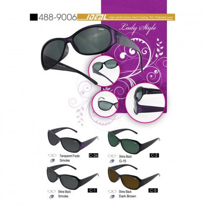 4GL IDEAL 488-9006 Lady Style Women Polarized Sunglasses UV400