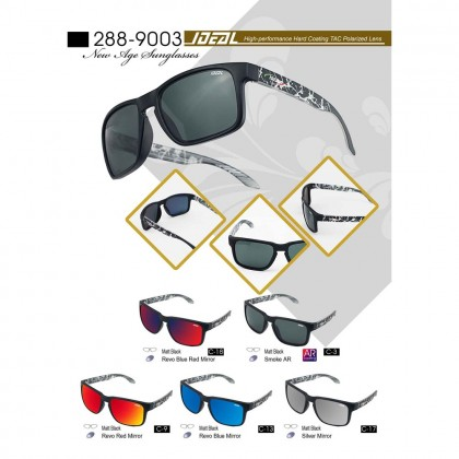 4GL IDEAL 288-9003 New Age Polarized Sunglasses UV400