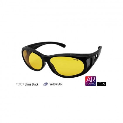 4GL IDEAL 588-8928 Fit Over Overlap Polarized Sport Sunglasses UV 400