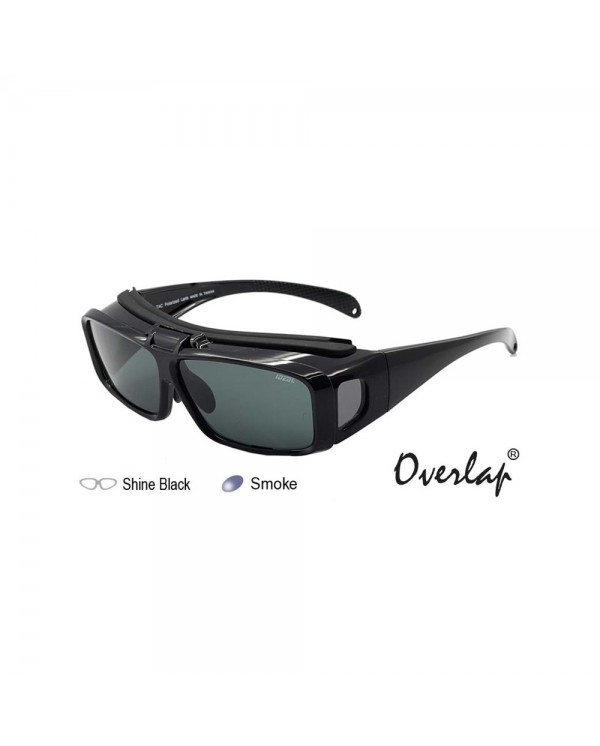 4GL IDEAL 8958 Overlap Fit Over Polarized Sport Sunglasses UV 400