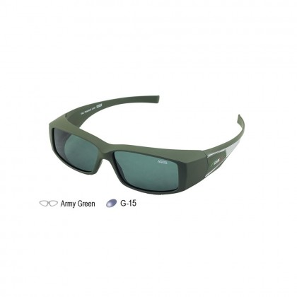 4GL IDEAL 8981 Overlap Fit Over Polarized Sport Sunglasses UV 400