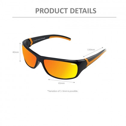 4GL IDEAL 388-9001 Polarized Sport Sunglasses UV400 TR Frame