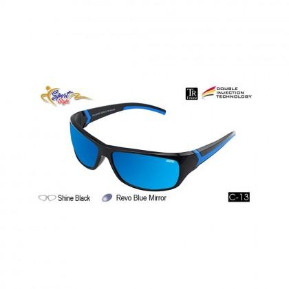 4GL Ideal 388-9001 Polarized Sunglasses Sport UV400 TR Frame