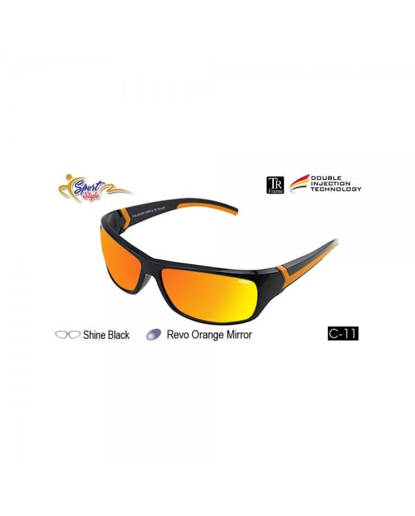 4GL IDEAL 388-9001 Polarized Sport Sunglasses UV400 TR Frame