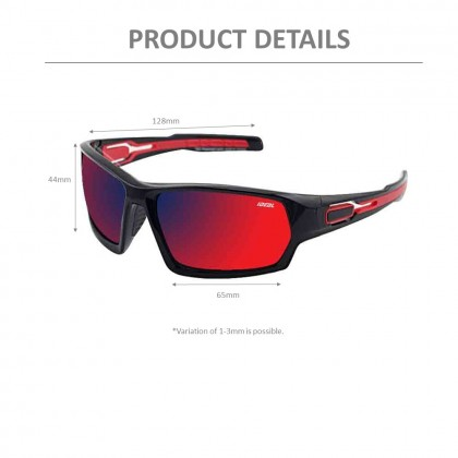 4GL Ideal 388-9009 Polarized Sunglasses Sport UV400