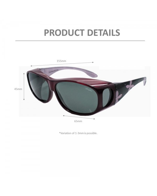 4GL IDEAL 8865 Overlap Fit Over Polarized Sport Sunglasses UV 400