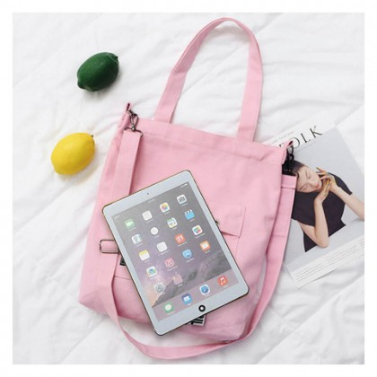 4GL Fashion Canvas Tote Bag Living Traveling Share S001S Sling Shoulder Bag