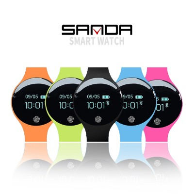 4GL Sanda SD01 Fashion Bluetooth Touch Screen Smart Bracelet Sport Watch Jam Tangan