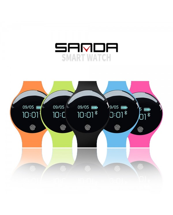 4GL Sanda SD01 Fashion Bluetooth Touch Screen Smart Bracelet Sport Watch Jam Tangan