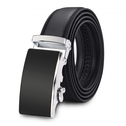 4GL G Series Design High Quality Men Leather Automatic Buckle Belts Tali Pinggang