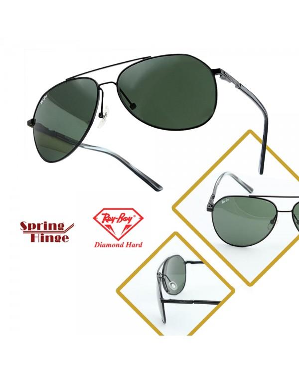 4GL ReyBoy W3390 Glass Lens Sunglasses UV400 Lens Kaca Cermin Mata