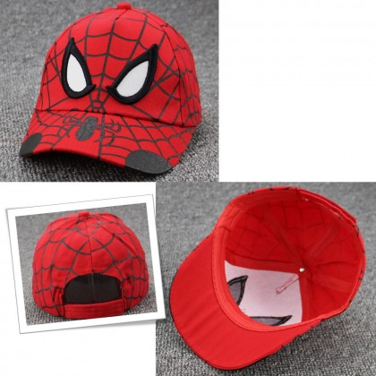 4GL Kids Size Marvel Spiderman Cartoon Cap Snapback
