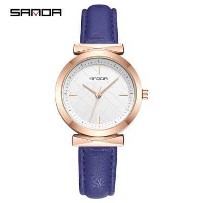 4GL SANDA P246 Veins Dial Design Women Watches Jam Tangan