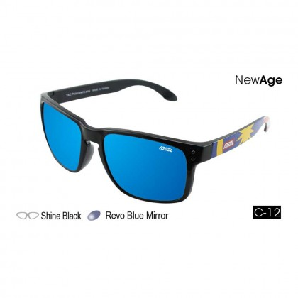 4GL Ideal 288-9011 New Age Polarized Sunglasses UV400 Jalur Gemilang Cemin Mata