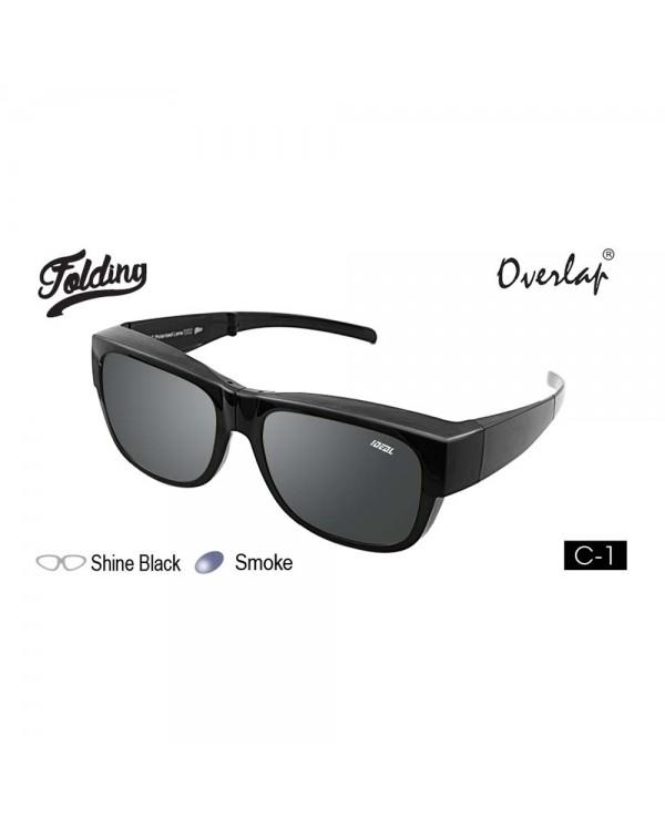 4GL IDEAL 588-9016 Overlap Folding Polarized Sunglasses UV400 Cemin Mata Lipat