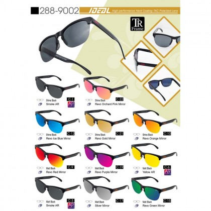4GL Ideal 288-9002 Polarized Sunglasses New Age Hard Coating TAC Lens