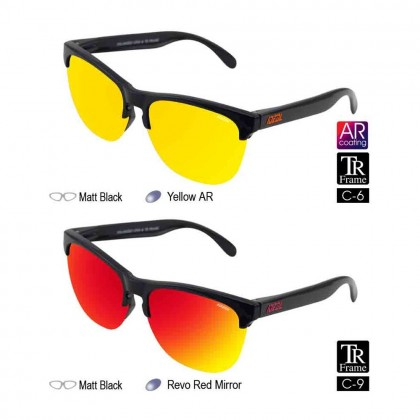 4GL IDEAL 288-9002 New Age Hard Coating TAC Polarized Lens Sunglasses