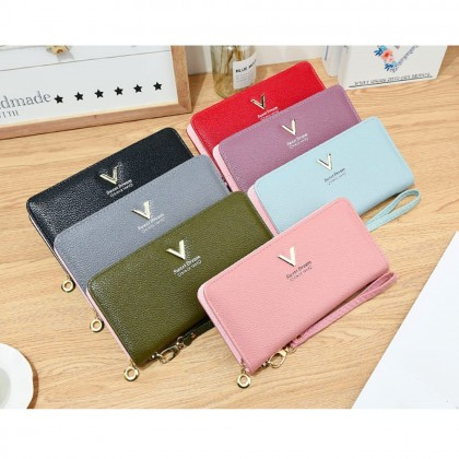 4GL Korean Fashion Sweet Dream B-316 Women Purse Long Wallet Card Holder