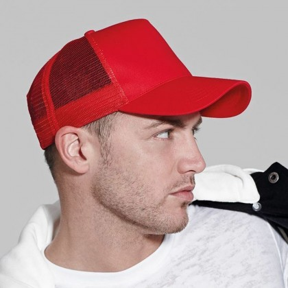 4GL MESH Plain Colour Cap Baseball Snapback G0523