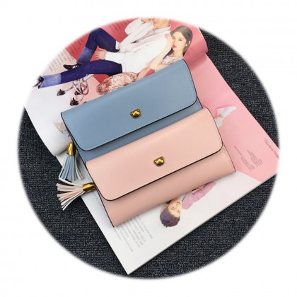 4GL Bear A1007 Women Zip Long Purse Dompet