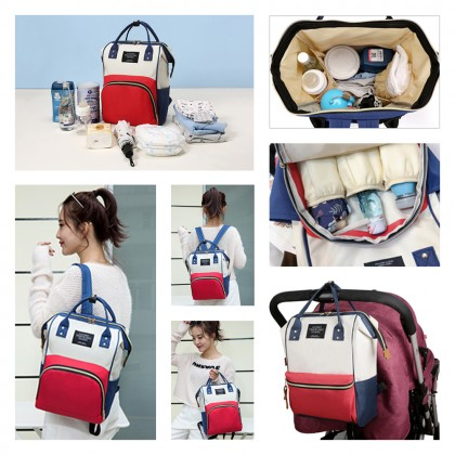 4GL Multifunction Large Capacity Mummy Backpack Diapers Bag