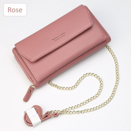 4GL Baellerry N5509 Long Purse Handbag Women Fashion Leather Wallet Dompet