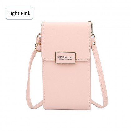 4GL Baellerry N5190 Woman Fashion Leather Multi Purse Wallet Cross Body Sling Bag
