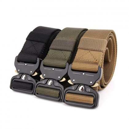 4GL Men Military Army Tactical Heavy Duty Belt Tali Pinggang