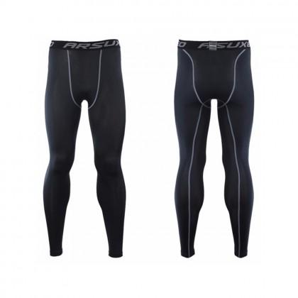 4GL Men Gym Compression Fitness Tights Sport Pants M-3XL