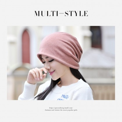 4GL Beanie Hat Fashion Men Woman Unisex Multi Funtion Scarf