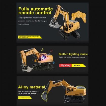 4GL Construction RC Truck RC Excavator Remote Control Car RC Car Lorry Lori Control Bulldozer Mainan Budak Lelaki