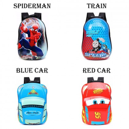 4GL Kids Eggshell Backpack Bag Pack School Bag Beg Sekolah Bag Sekolah