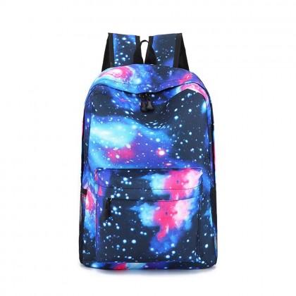 4GL Starry Backpack Bag Pack School Bag Beg Sekolah Bag Sekolah Laptop Bag
