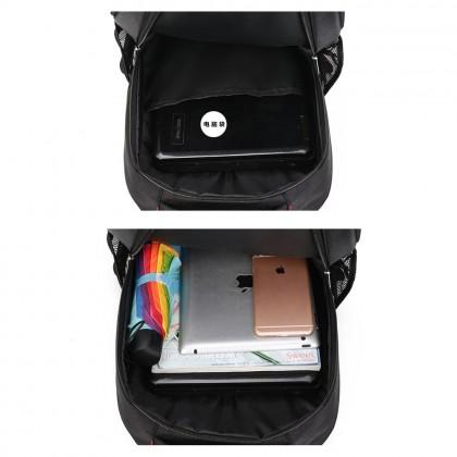 4GL CM Backpack Bag Pack School Bag Beg Sekolah Bag Sekolah Laptop Bag