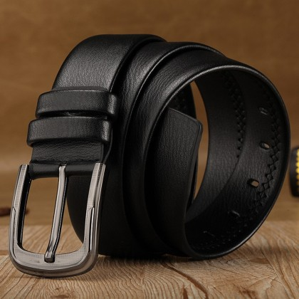 4GL Men Belt  Fashion Plain Leather Belt Tali Pinggang G0623